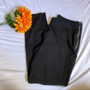 White House Black Market Skinny Ankle Zip Pants